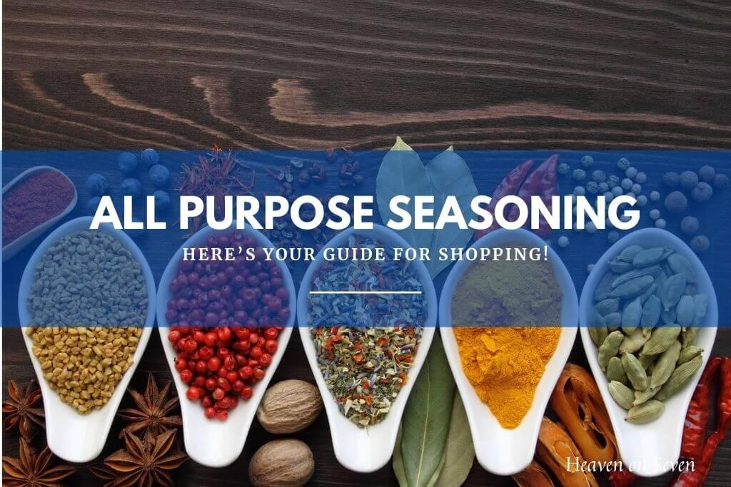 Best All Purpose Seasoning