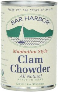 Bar Harbor Manhattan Style Clam Chowder