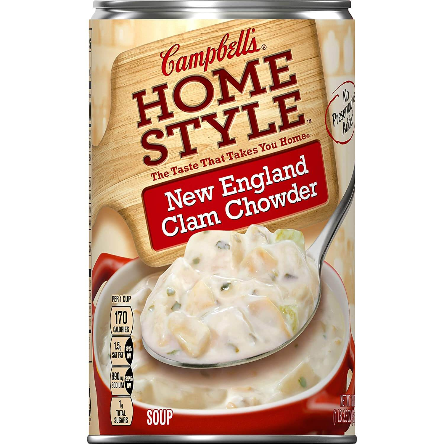 Campbell's Homestyle New England Clam Chowder