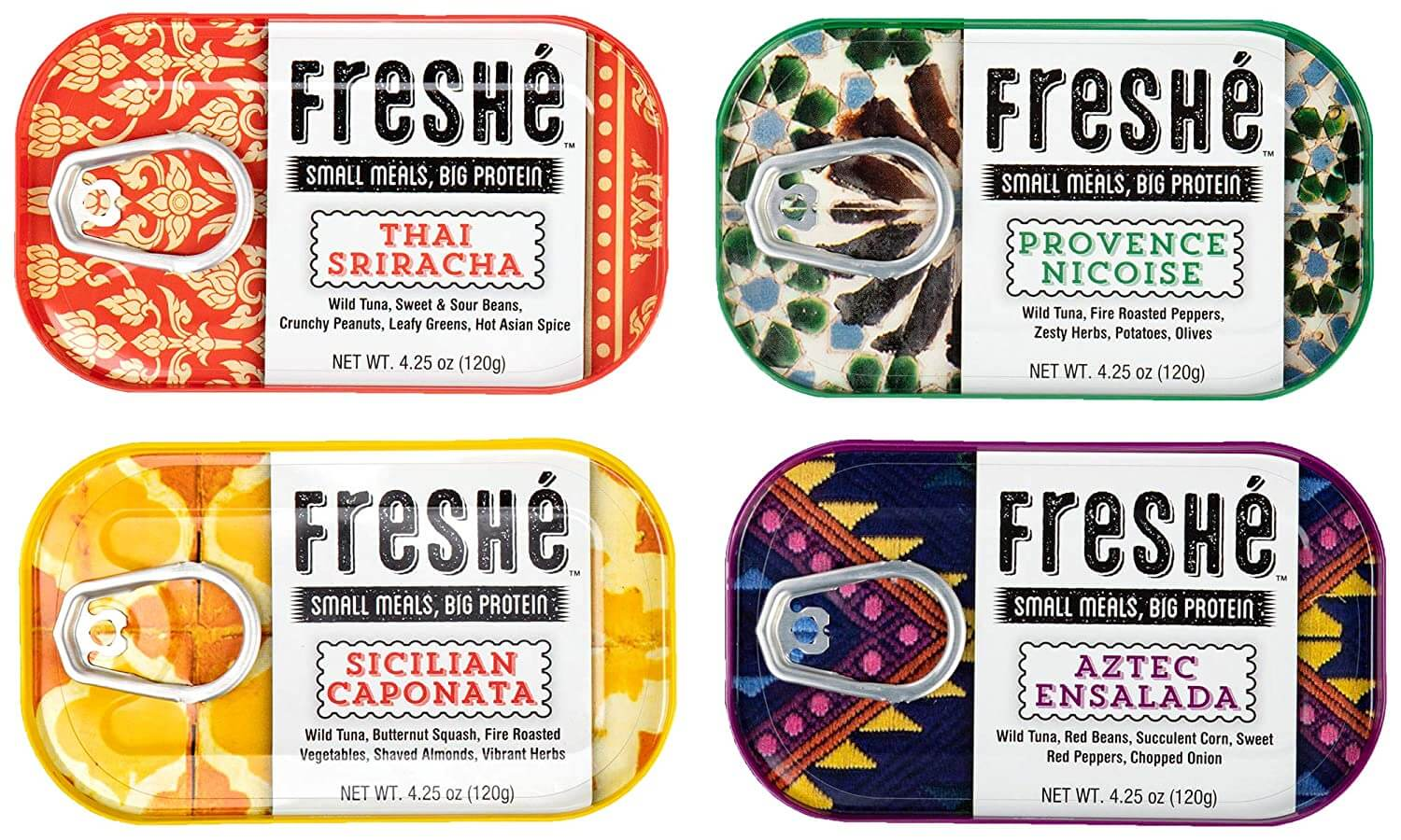 Freshé Gourmet Canned Tuna Variety Pack