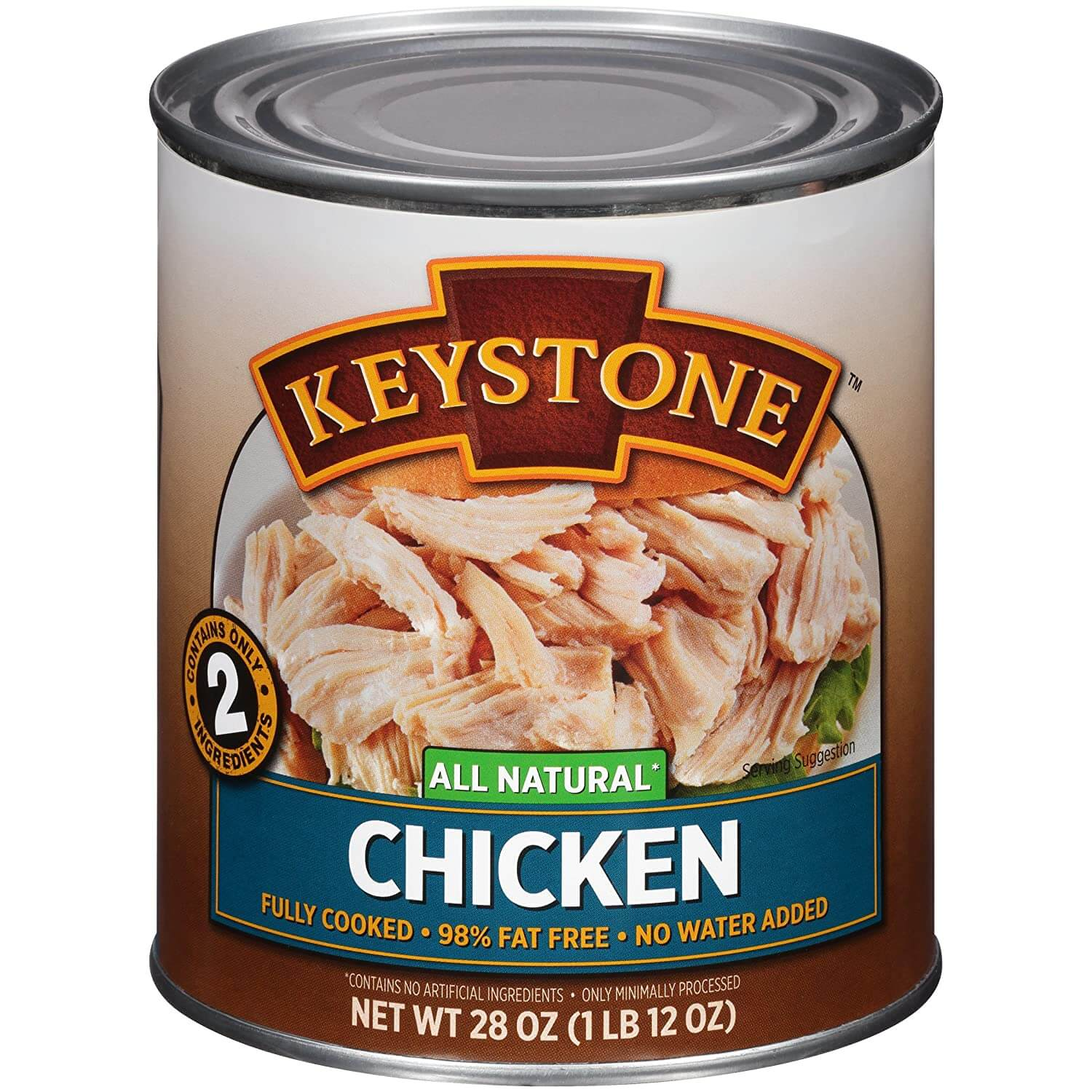 Keystone Meats All Natural Canned Chicken