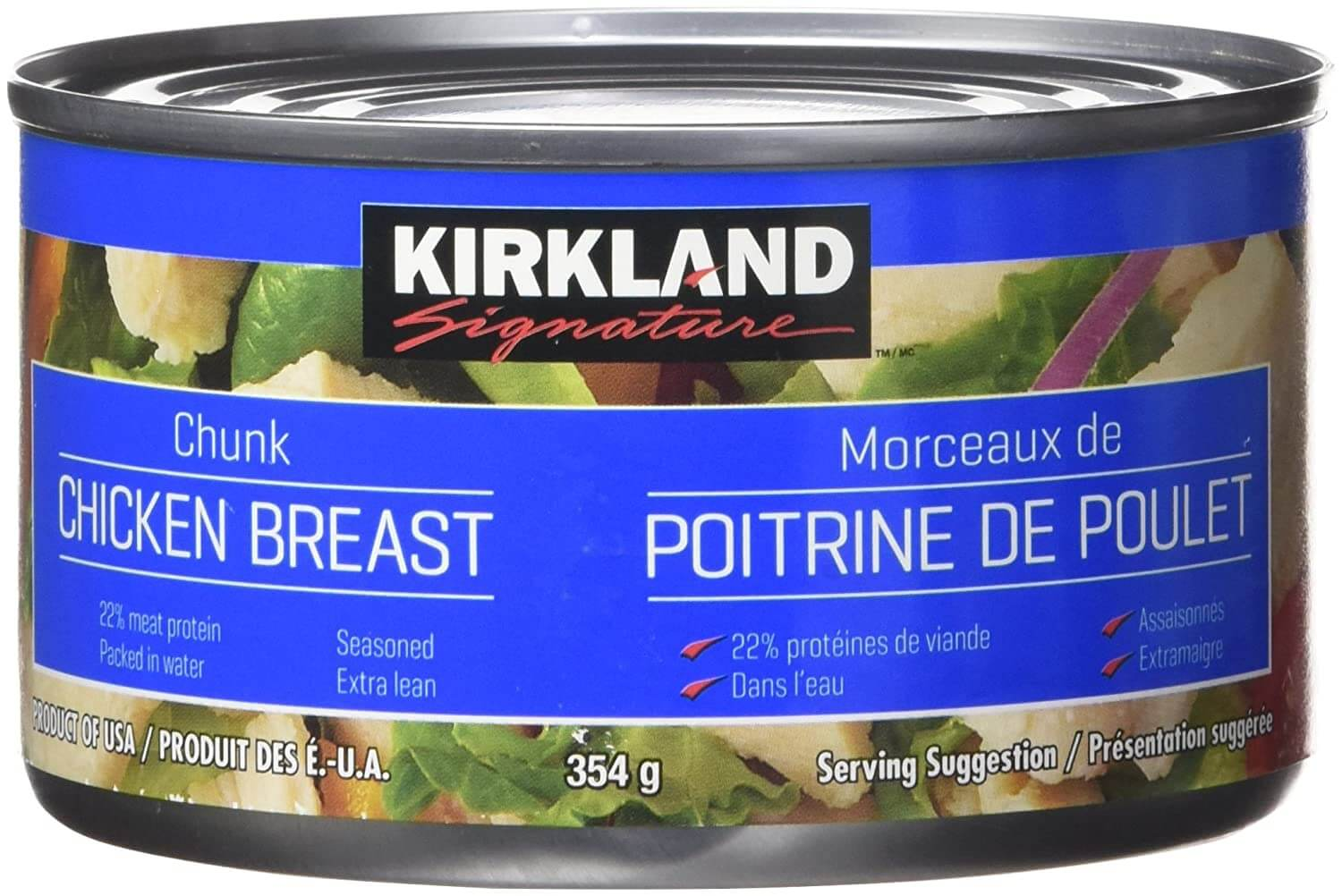 Kirkland Signature Chicken Breast, Packed in Water