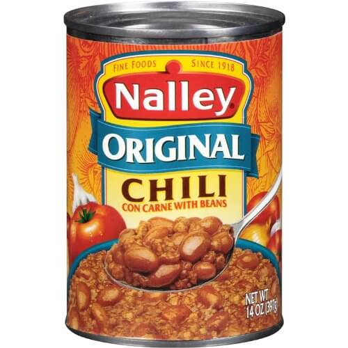 Nalley Original Chili Con Carne with Beans