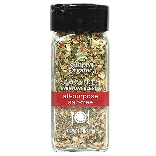 Simply Organic Spice Right Everyday Blends All-Purpose Salt Free