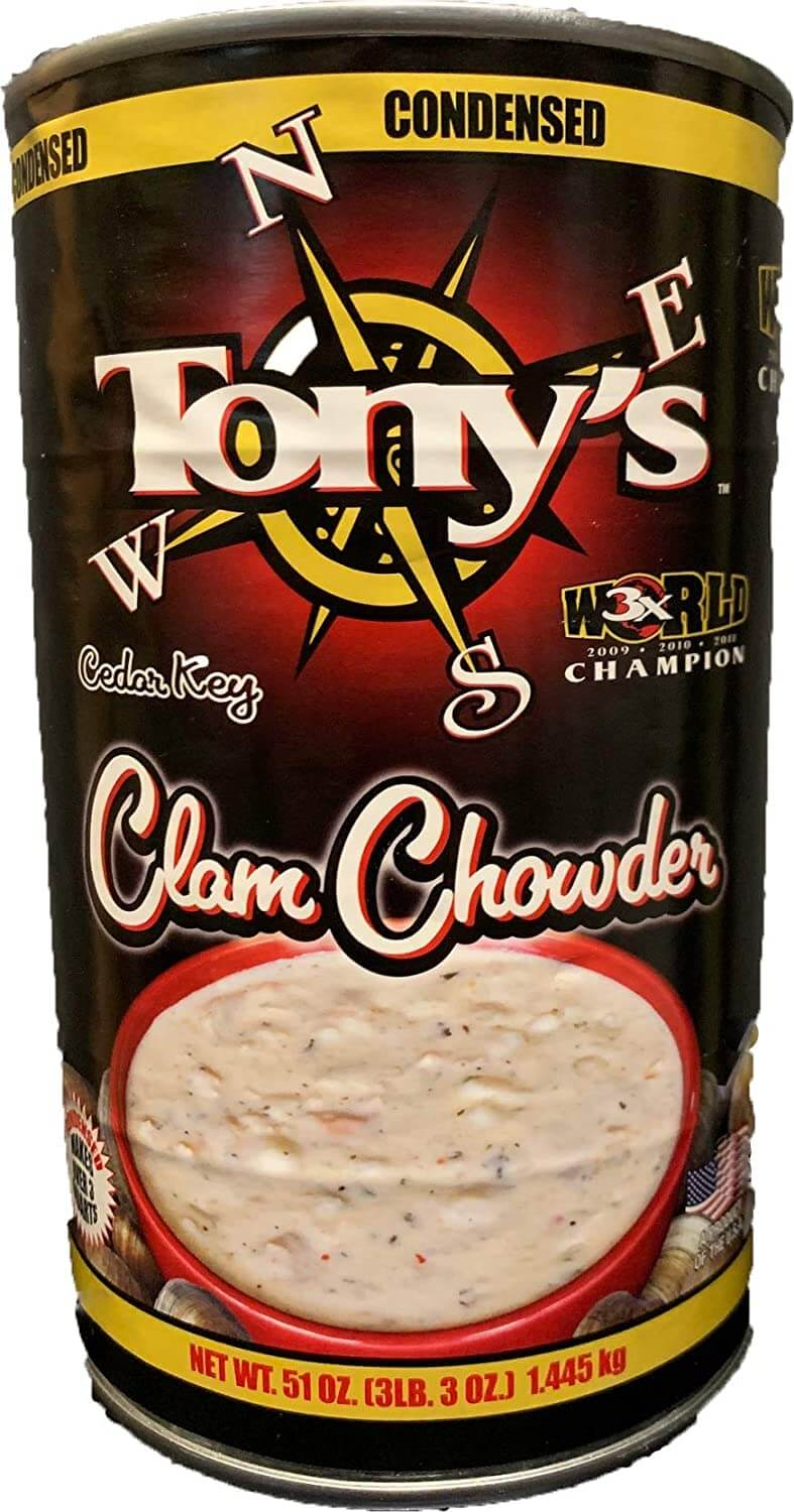 Tony's Clam Chowder