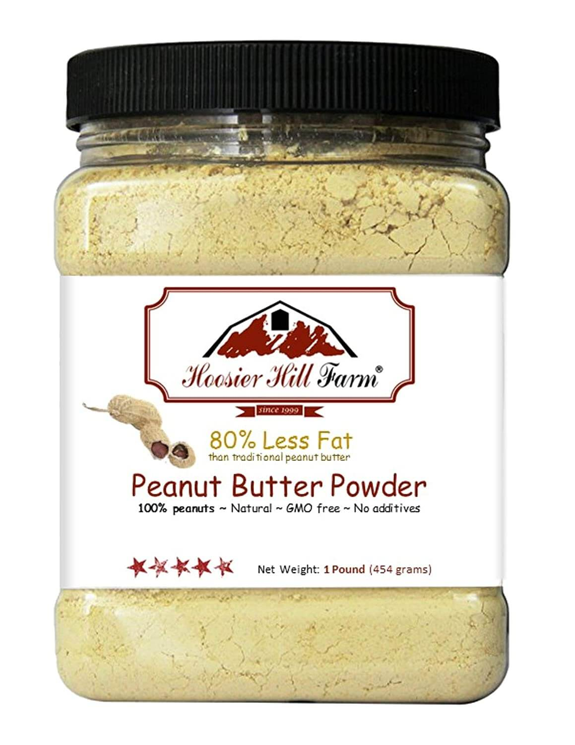 Peanut Butter Powder by Hoosier Hill Farm