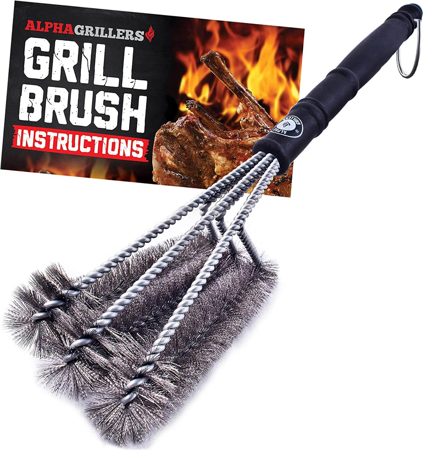 Alpha Grillers Grill Brush