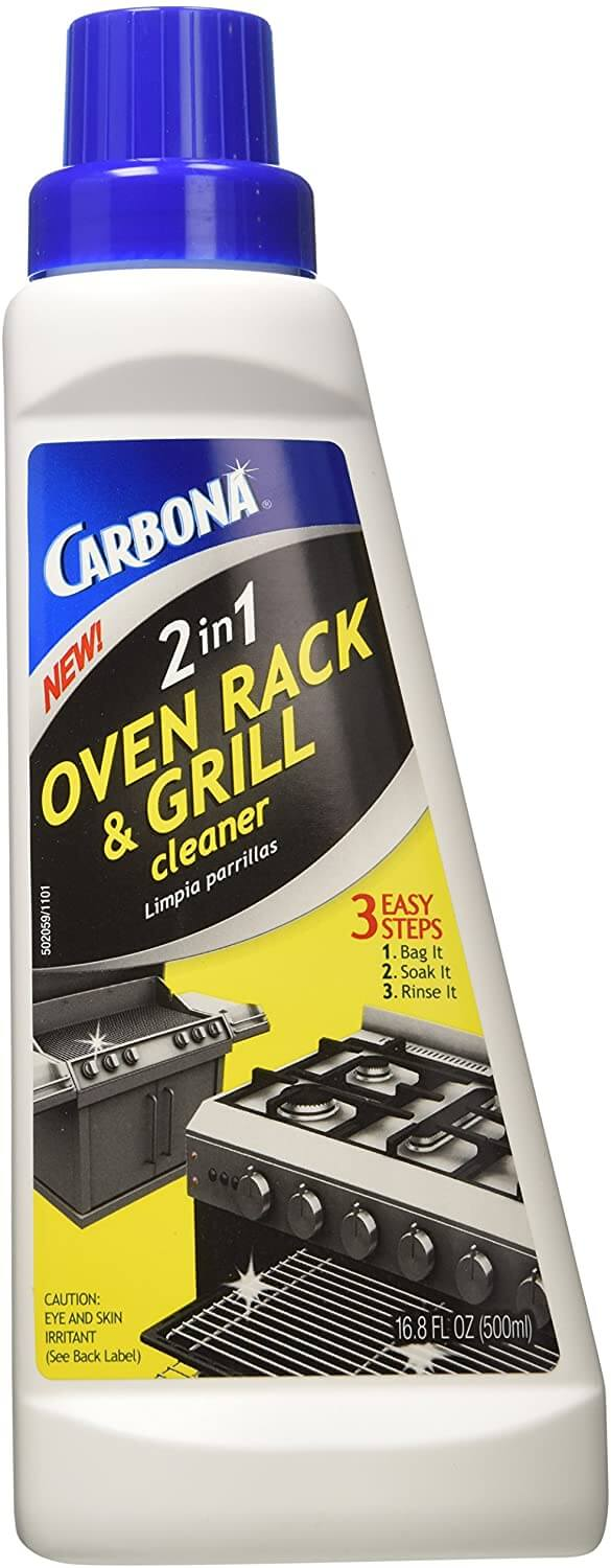 Carbona 2-In 1 Oven Rack and Barbeque Cleaner