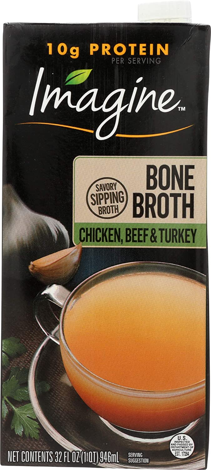 Imagine Chicken, Beef and Turkey Bone Broth