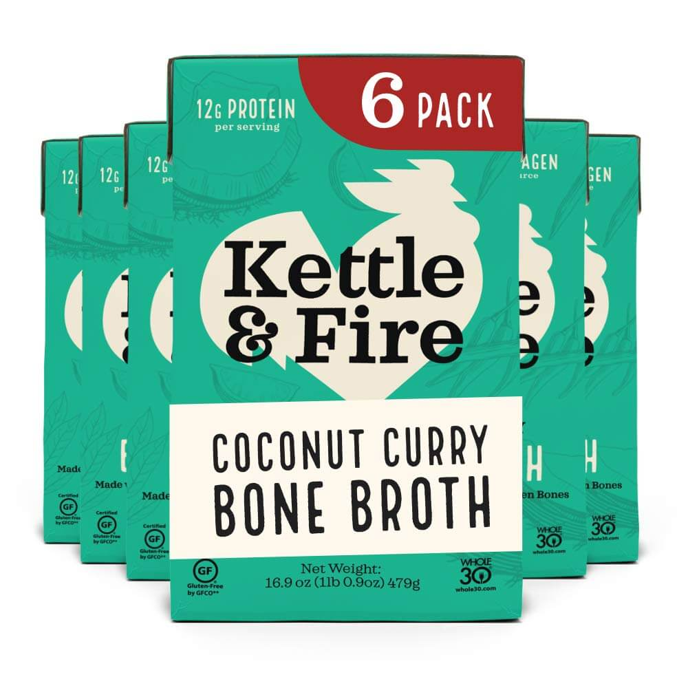 Kettle and Fire Coconut Curry & Lime Chicken Bone Broth