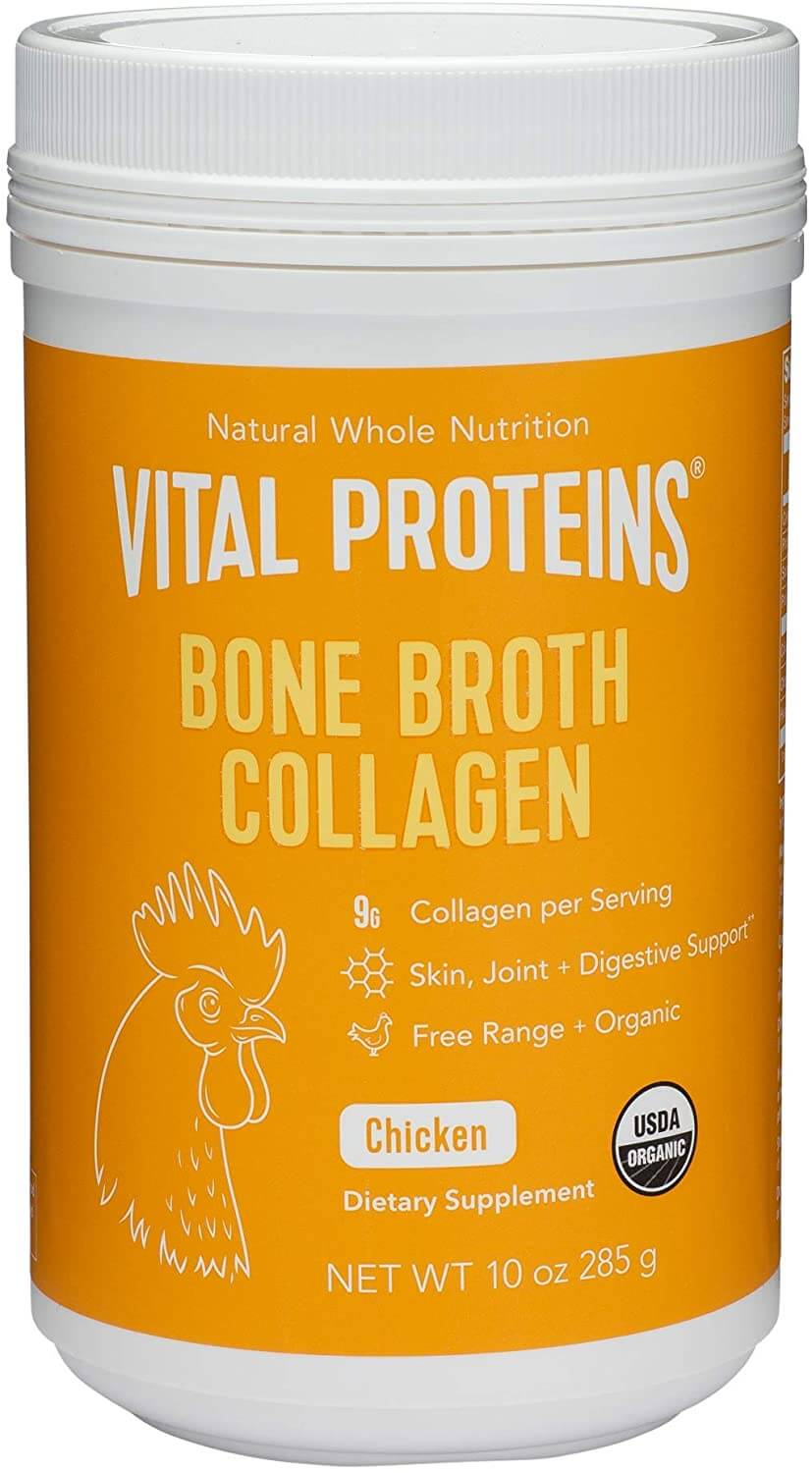 Vital Proteins Organic, Free-Range Chicken Bone Broth Collagen