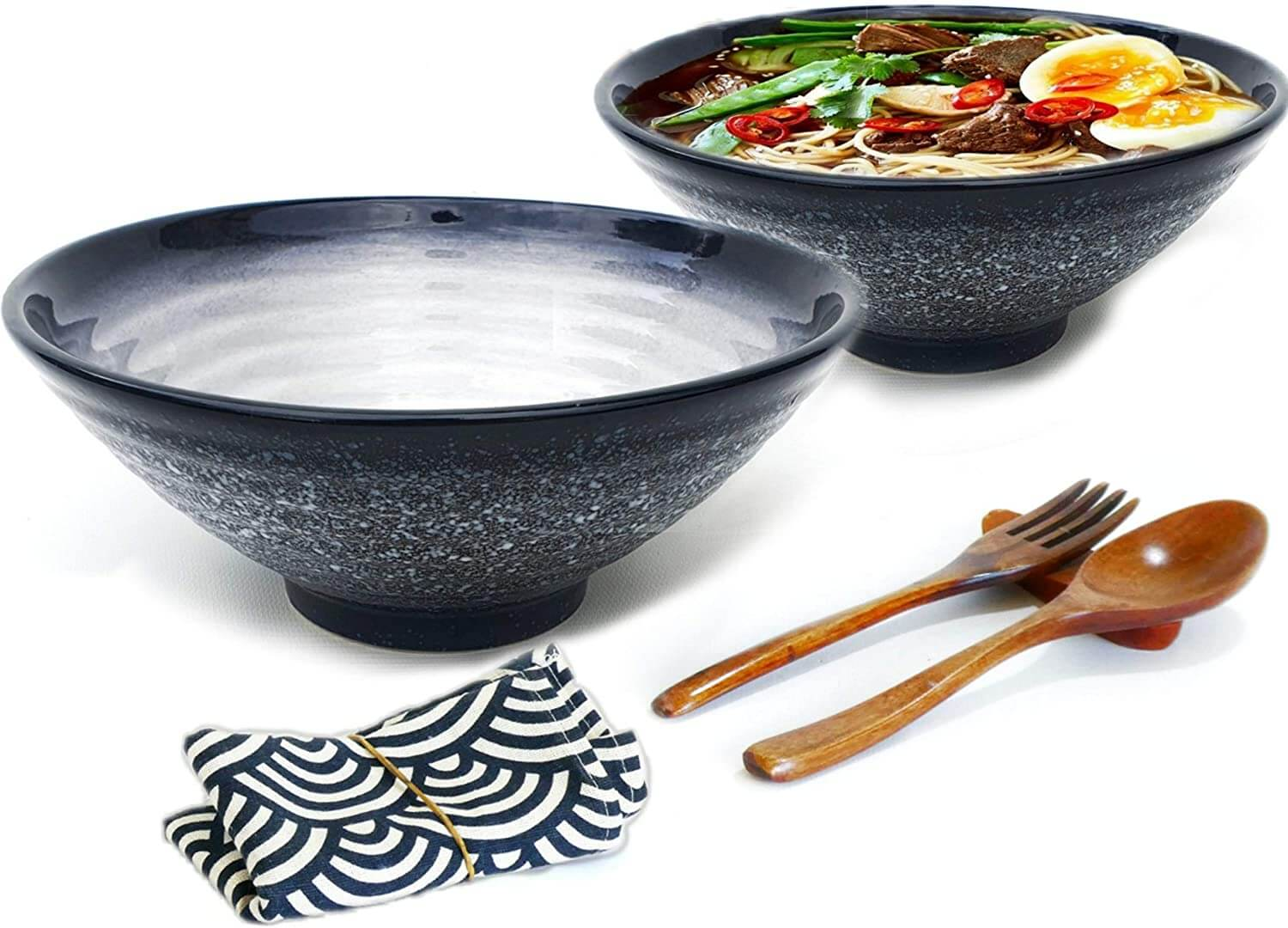 Vallenwood Ceramic Ramen Bowl