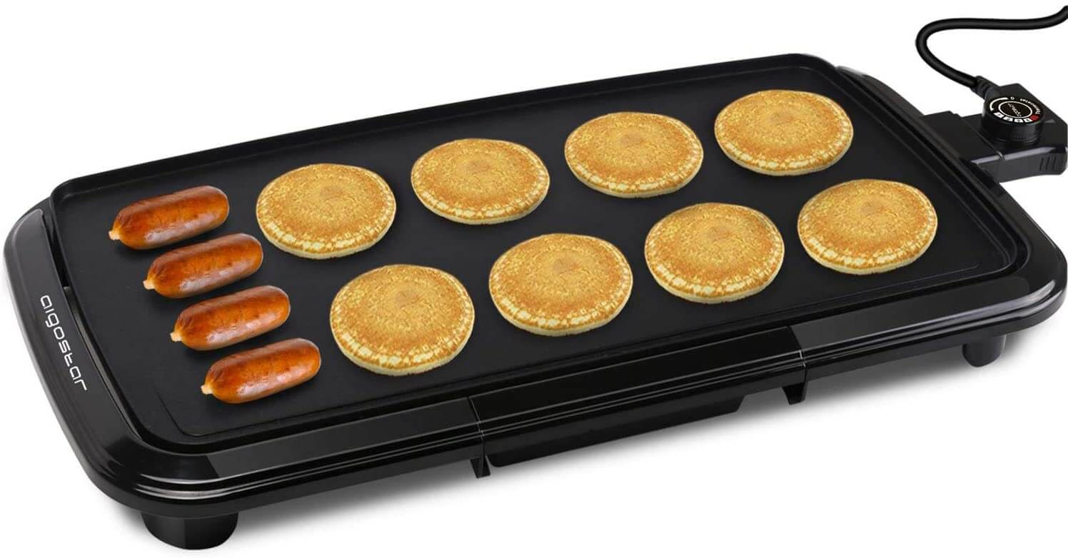Aigostar Varmo Non-Stick Electric Griddles