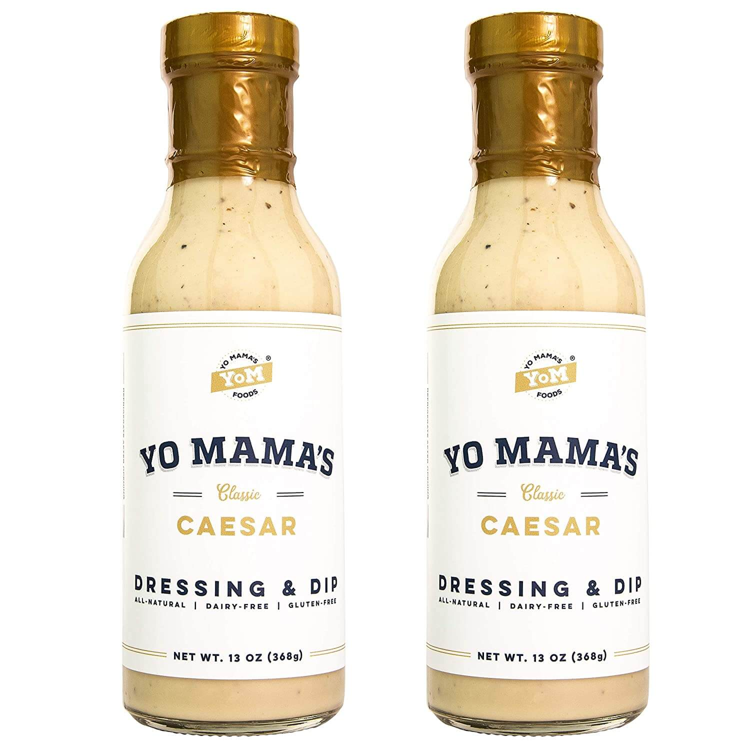 Caesar Dressing and Dip by Yo Mamas Foods