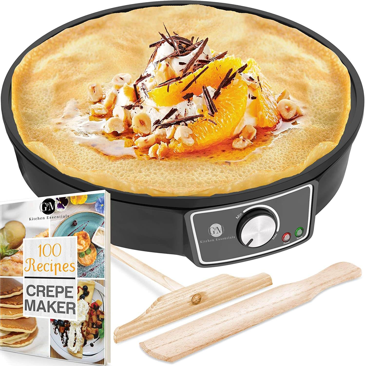 G&M Kitchen Essentials Electric Griddle