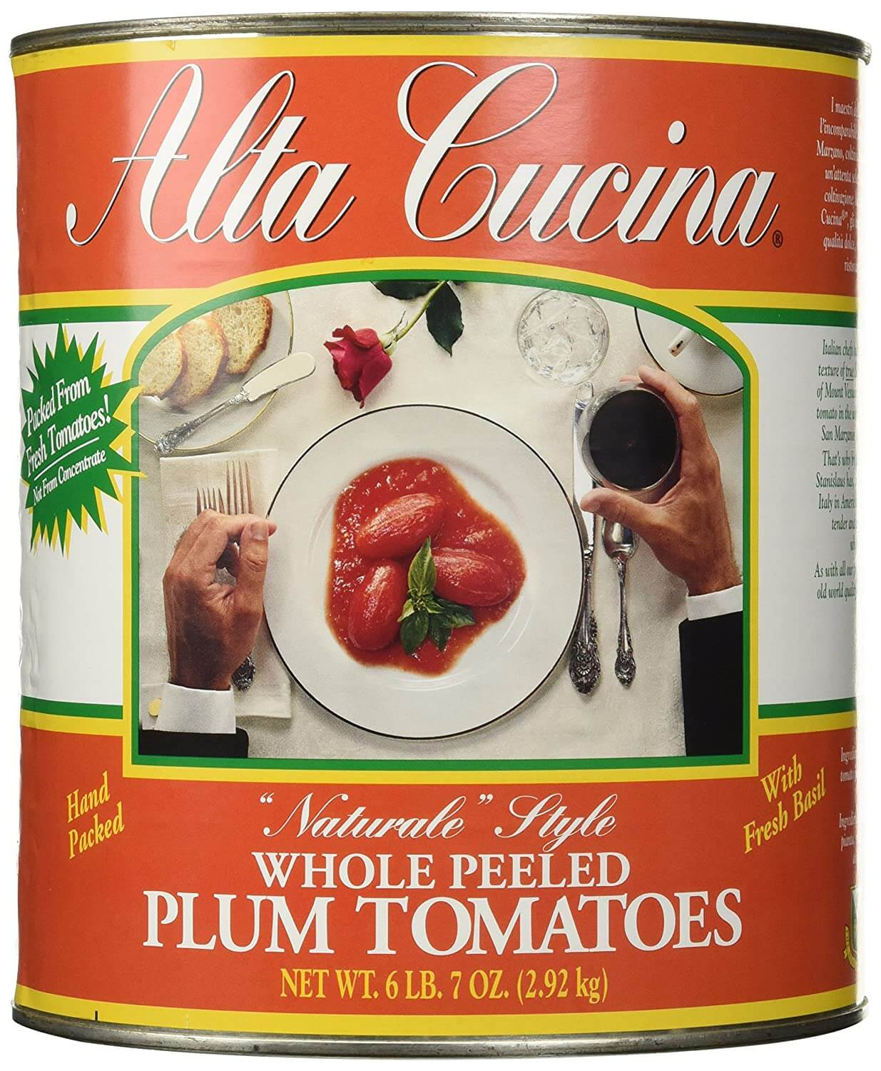 Stanislaus Alta Cucina Whole Tomatoes