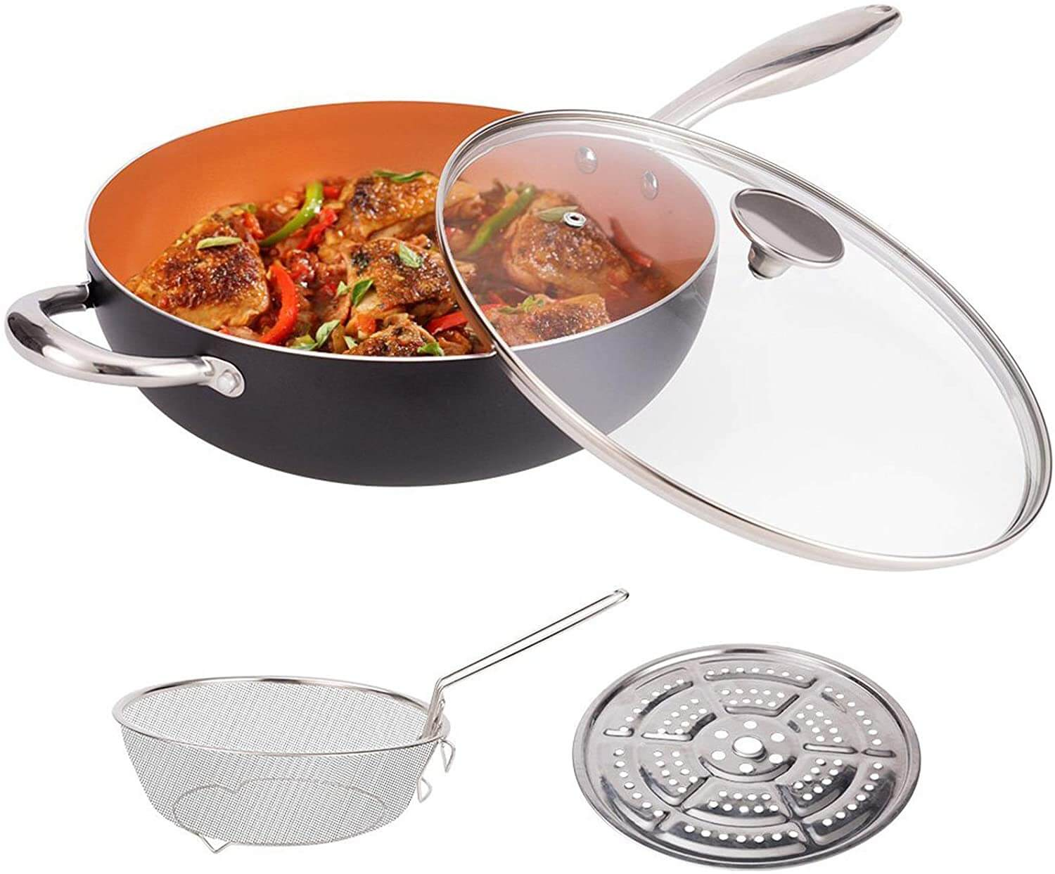 TeChef APW30 Stir Fry Pan